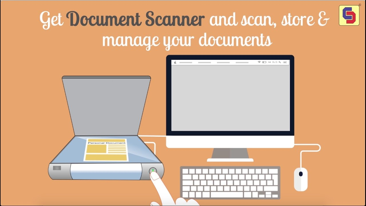 how to scan and save a document