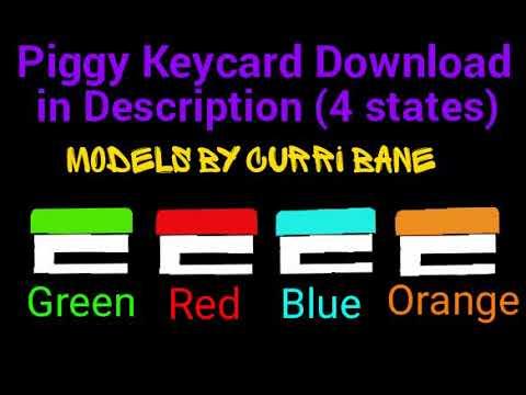 Piggy Roblox Key Card Piggy Keycards Download 4 States Dc2 Youtube