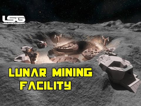 Space Engineers - Lunar Mining Facility