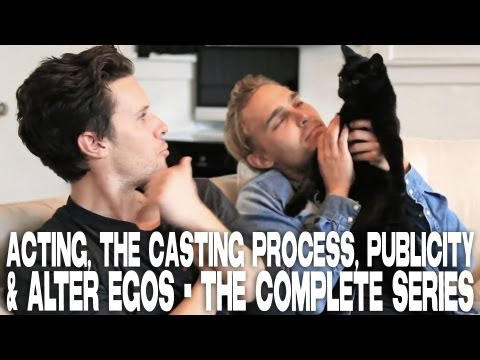 Kris Lemche & Joey Kern on Acting, The Casting Process, Publicity & ALTER EGOS  The Complete Series