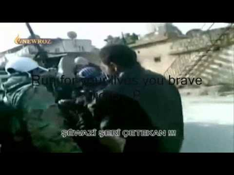 "Kurds humiliating FSA/Al Nusra thugs | Syrian ""Civil"" War"