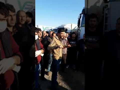 İran - Türkmenistan Sınırında Mahsur Kalan Türkiyeli Şoförler