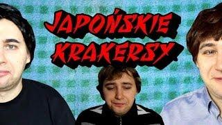 Japońskie Krakersy Ryżowe - Demy kontra Żywność