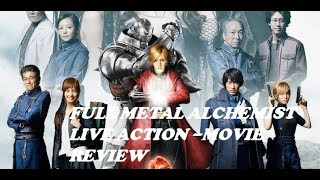 Full Metal Alchemist Live Action - Movie Review