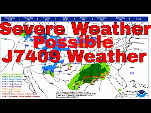 Severe Weather Day January 2, 2020