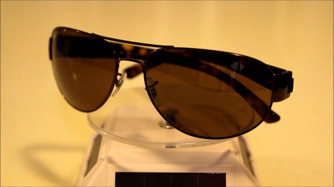 141116e5c6 Ray Ban RB3448 Polarized Tortoise Sunglasses - YouTube
