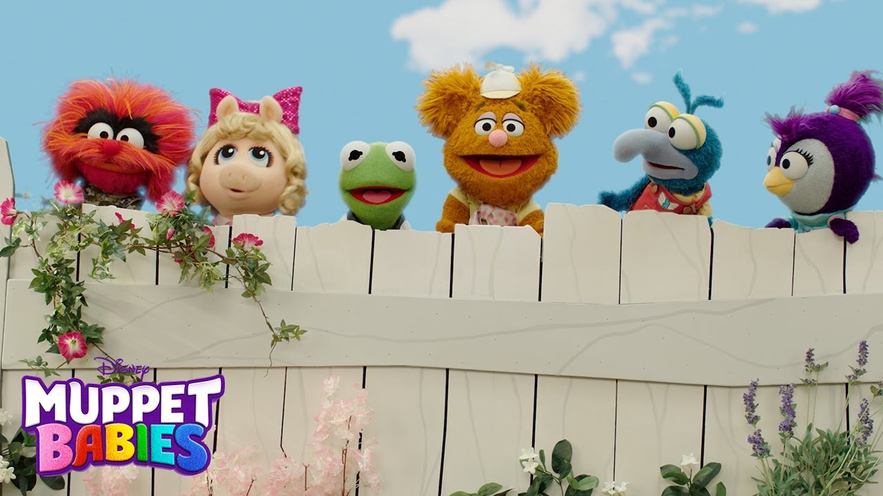 Exclusive See Disney Junior S Muppet Babies Turned Into Actual Muppets Ew Com