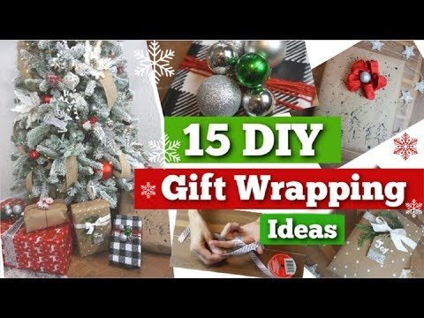 15 DIY Dollar Tree Gift Wrapping Ideas & Hacks | Christmas Ideas | Momma From Scratch
