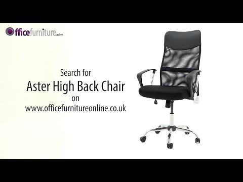 Aster Mesh Office Chair Assembly Guide - OfficeFurnitureOnline.co.uk