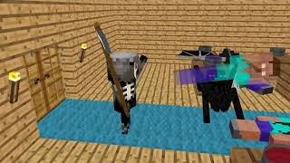 Топ 10 Minecraft Школа Мобов новые серии   Майнкрафт Сериал