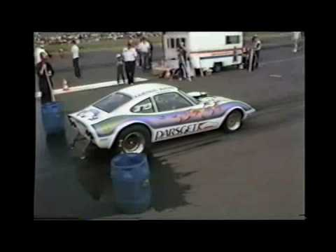 HARA 1984 Giebelstadt Germany Drag Racing with sound