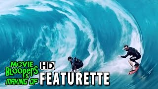 Point Break (2015) Featurette - Surf Action
