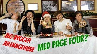 JULEKAGEHUSE MED PAGE FOUR! ll Kristine