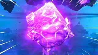 FORTNITE CUBE JUST CRACKED! (FORTNITE LIVE CUBE EVENT)