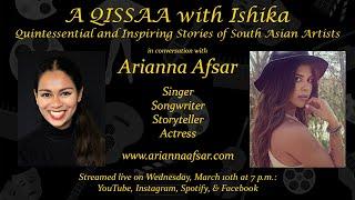 A QISSAA with Ishika  -  Arianna Afsar