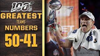 100 Greatest Teams: Numbers 50-41 | NFL 100