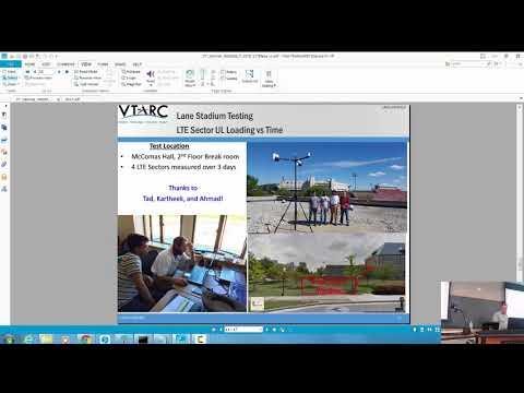 Spectrum Sharing Test & Demonstration - LTE Field Measurement