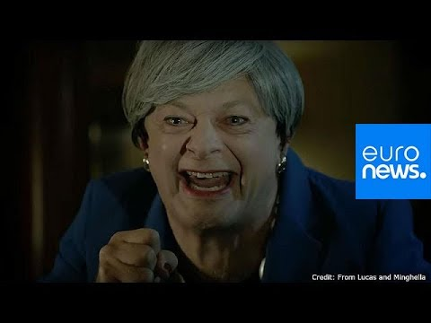 Andy Serkis reprises Gollum character to mock May's Brexit plan