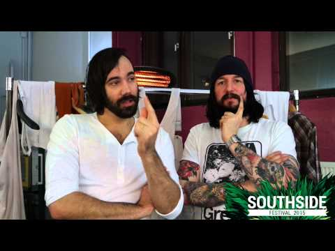 DEATH FROM ABOVE 1979 auf dem Southside Festival 2015