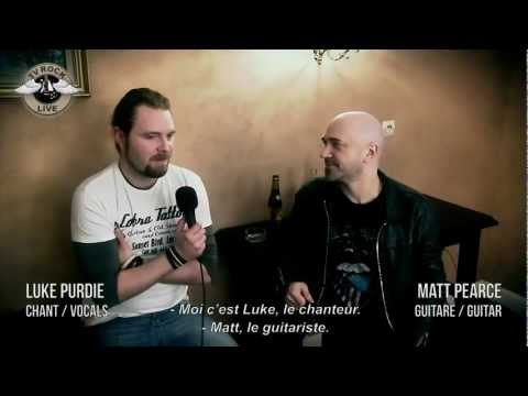 Voodoo Six Interview Paris 2012 Tv Rock Live [HD] Traduction en Français