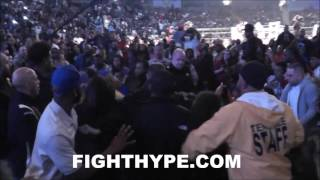 (CHAOS) MASSIVE BRAWL BREAKS OUT IN CROWD DUR...