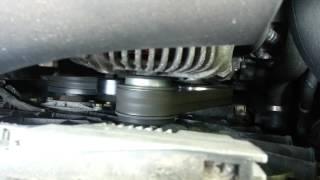 Bruit courroie accessoire + oscillement ralenti A6