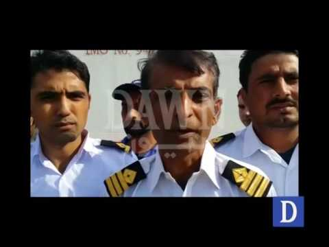 Pakistani Sailors Chief Officer talk stranded in Egypt Port
