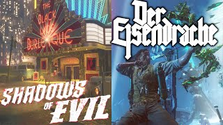 Shadows of Evil vs Der Eisendrache - 'Black Ops 3 Zombies' Map Comparison/Review (Call of Duty BO3)