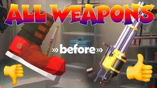 OPENED ALL THE WEAPONS OF THE GAME – Racing Smash 3D (iOS)