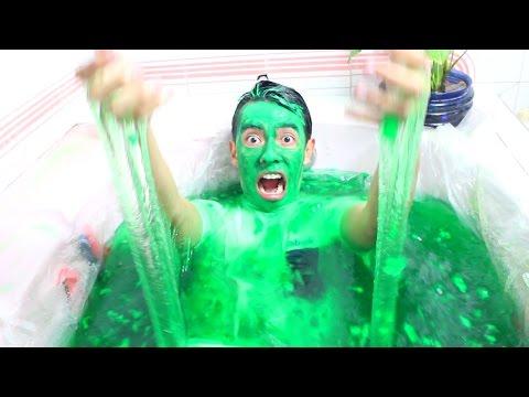 Bañera de Slime - ¿Que es lo MÁS EXTREMO que He Hecho? - Ami Rodriguez