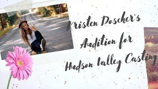 Kristen Doscher's Audition for Hudson Valley Casting