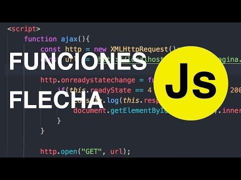 Funciones de flecha en Javascript thumbnail