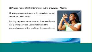 Services the Deaf and Hear Alberta Provide (DHH)...