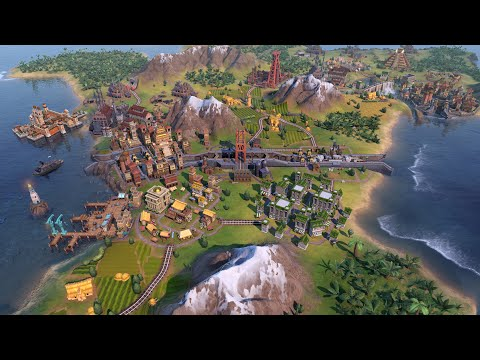 Civilization VI Gathering Storm - Gameplay (PC/UHD)