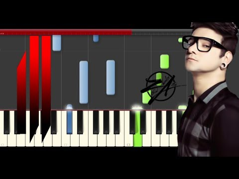 Skrillex Rick Ross Purple Lamborghini piano midi tutorial sheet partitura suicide squad cover app