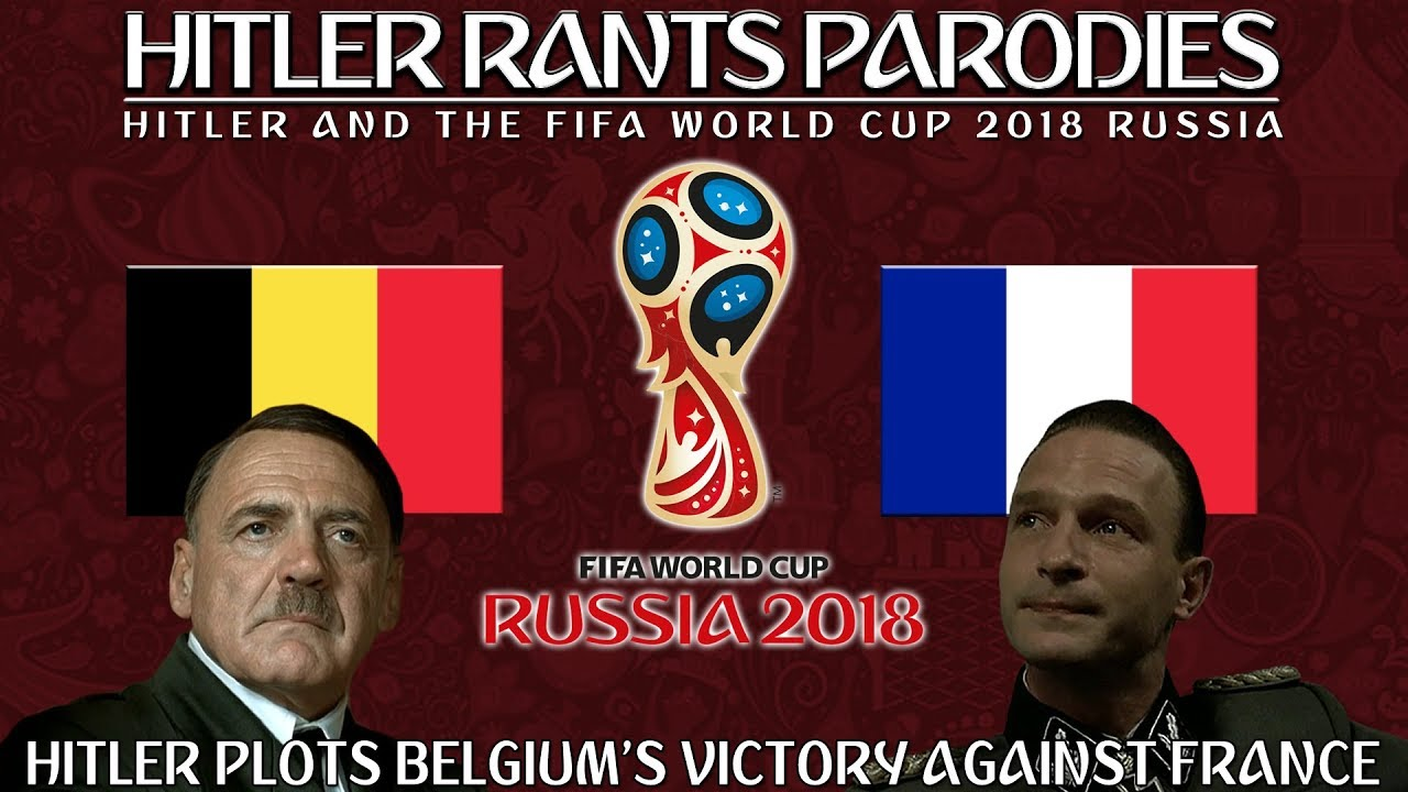 Hitler plots Belgium's victory against France in the World Cup