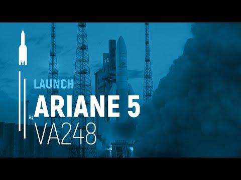 Arianespace Flight VA248 - T-16 / EUTELSAT 7C