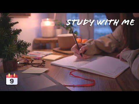 STUDY WITH ME 📖🖊️- ☀️DAY TO NIGHT🌙 pour étudier, travailler, jouer ...