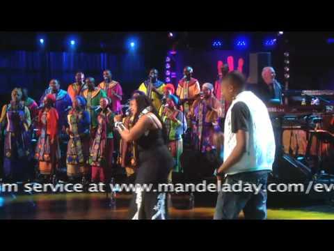 Yvonne Chaka Chaka performs