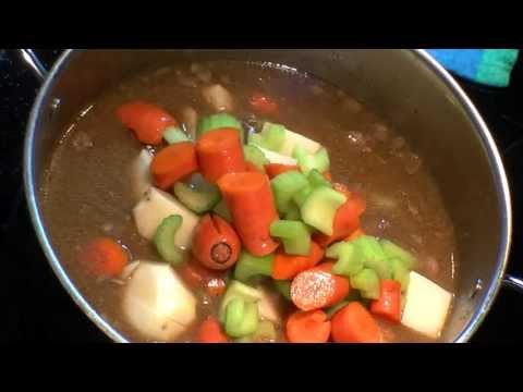 Texas style Beef Stew Winter Time Treat Easy