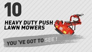 Heavy Duty Push Lawn Mowers // New & Popular 2017