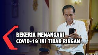 Video Call Dengan Jokowi, Perawat Ini Ceritakan Pengalamannya Tangani Covid-19