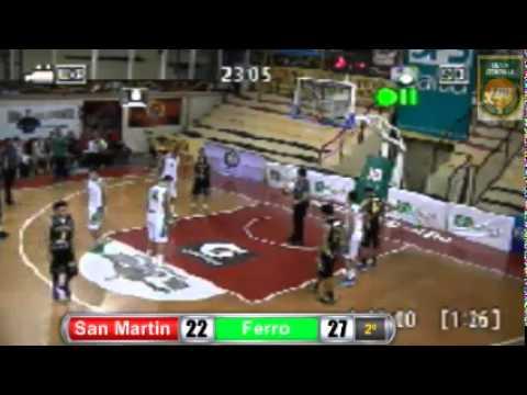 San Martin - Ferro Liga De Desarrollo