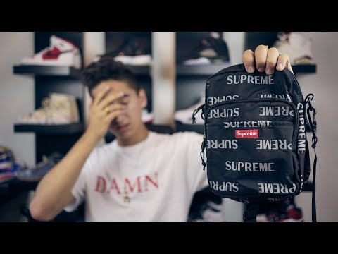 I GOT SCAMMED TWICE TRYING TO BUY THIS BAG! | Supreme 3m Repeat Shoulder Bag Unboxing