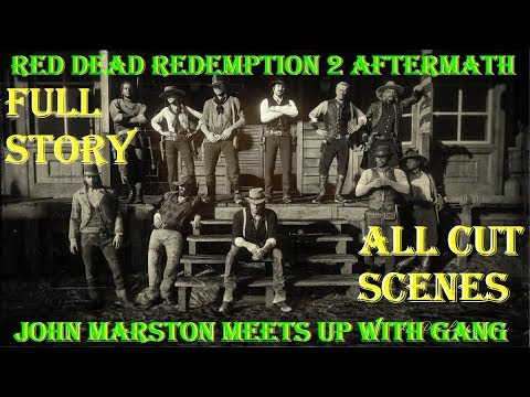 RDR2 Aftermath: John Marston Meets Old Gang Members & Strangers From The Past (All Cutscenes)