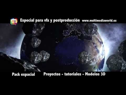 Pack espacial Multimedia World