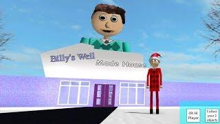 SPIELEN SIE ALS CHRISTMAS BILLY!! (Billy es Basics Educational Game Roleplay)   Roblox
