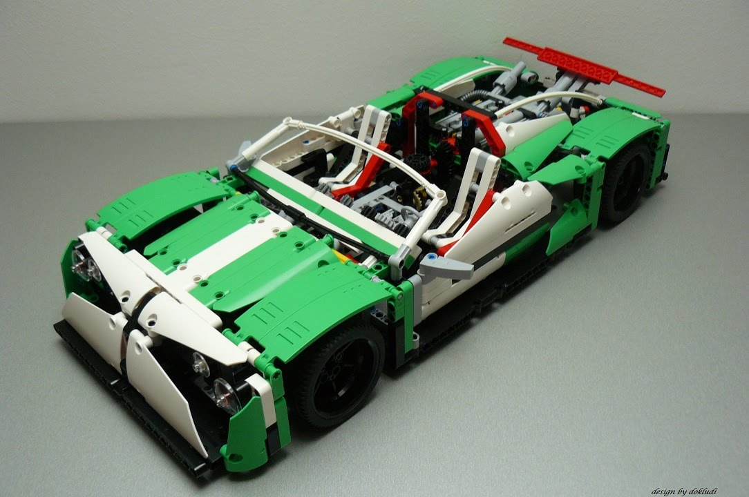 lego technic 42039 e modell sport car the spawn by. Black Bedroom Furniture Sets. Home Design Ideas