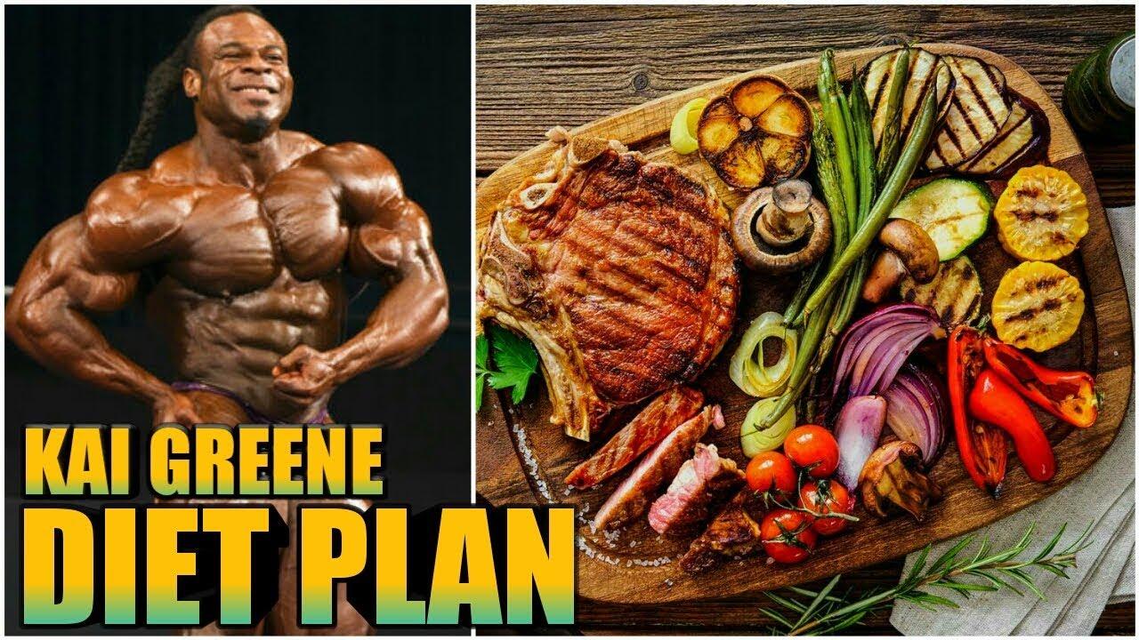Kai Greene Diet Plan chart mr olympia