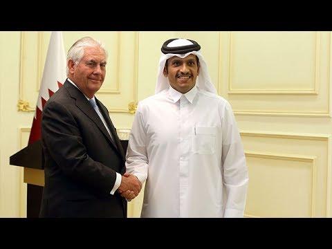 Rex Tillerson meets Arab FMs to discuss Gulf rift
